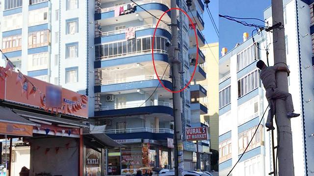 Diyarbakır'da kaçak elektrik kullanıma suçüstü