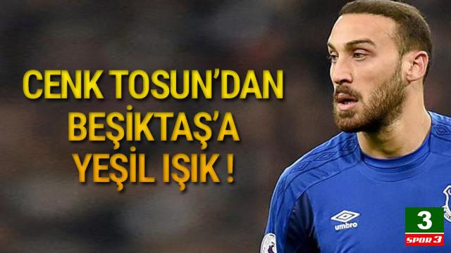 Cenk Tosun'dan Beşiktaş'a açık kapı !