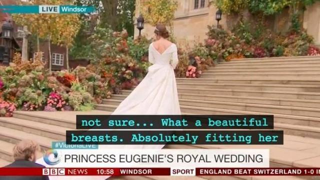 Kraliyet düğününde skandal gaf: ''Ne güzel göğüsler!''