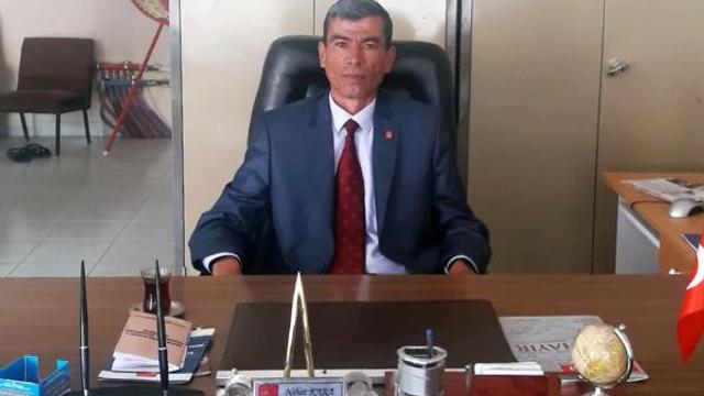 CHP ilçe başkanından ''adaylık'' istifası