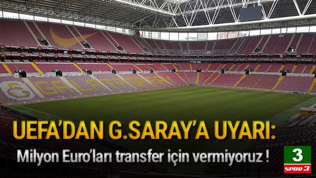 UEFA'dan Galatasaray'a stadyum uyarısı !