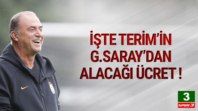 Fatih Terim Galatasaray'dan ne kadar kazanacak ?