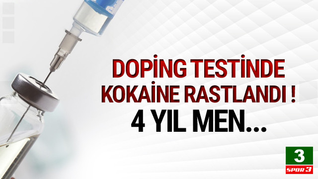 Türk futbolcuya 4 yıl men iddiası !