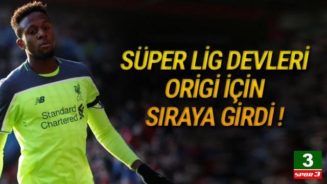 Beşiktaş ve Galatasaray Origi için savaşıyor !