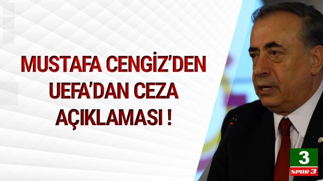 Mustafa Cengiz'den ceza açıklaması !