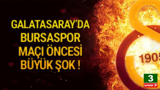 Galatasaray'da sakatlık depremi ! 3 yıldız...
