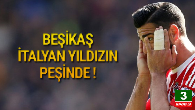 Beşiktaş'ta gündem Graziano Pelle !