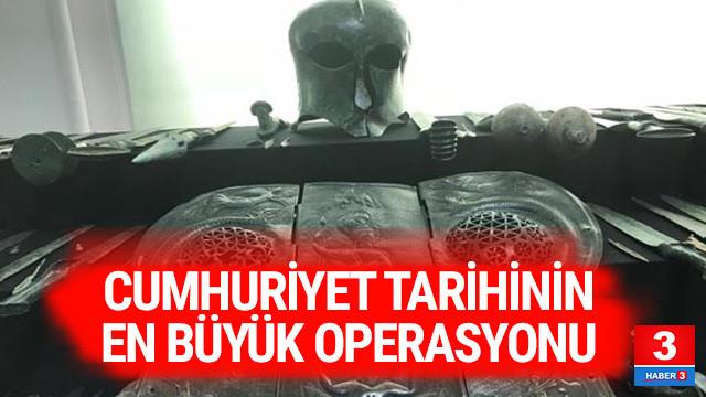 12 ilde Cumhuriyet tarihinin en büyük operasyonu