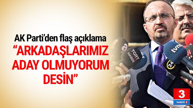 AK Parti'den ''3 dönem'' açıklaması !