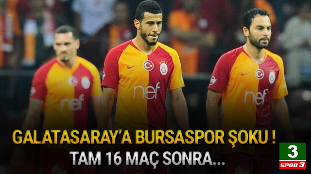 Galatasaray - Bursaspor: 1-1