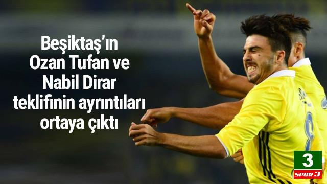 Beşiktaş'tan Fenerbahçe'ye Ozan Tufan teklifi
