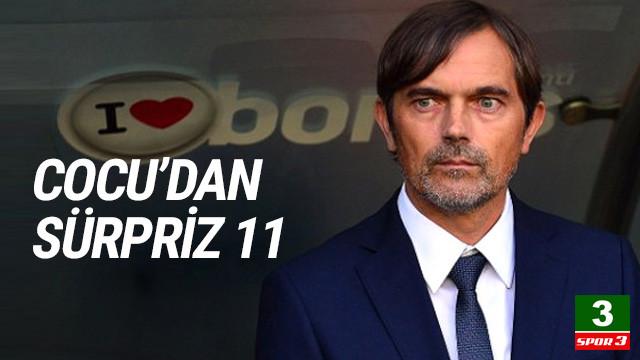 Cocu'dan sürpriz isim! İşte Fenerbahçe'nin 11'i