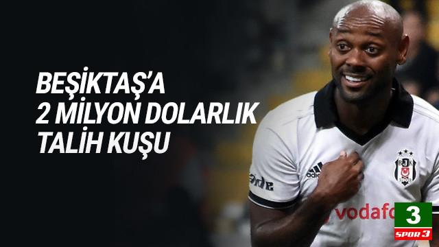Beşiktaş'ın başına talih kuşu kondu