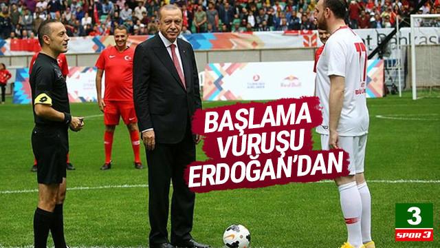 Başlama vuruşu Erdoğan'dan ! Şöhretler Karması maçını kim kazandı ?