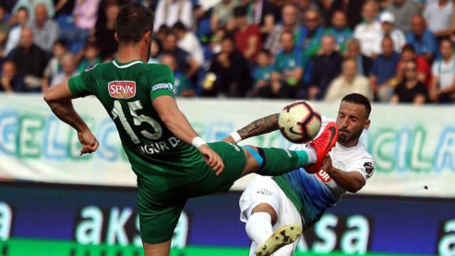 Çaykur Rizespor - Konyaspor: 1-1