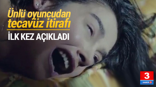 Güzel oyuncu Funda Eryiğit'ten tecavüz itirafı