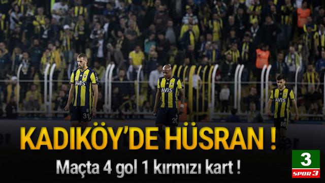 Kadıköy'de Fenerbahçe'ye ağır darbe !