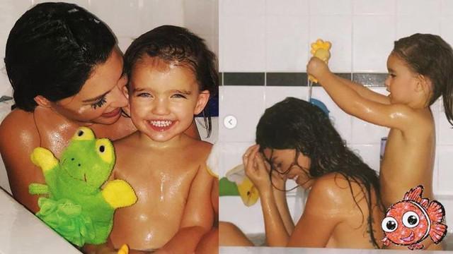 Yolanthe Cabau'dan banyo paylaşımı !