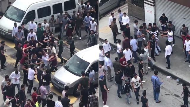 İstanbul'da meydan savaşı ! Onlarca kişi birbirine girdi ile ilgili görsel sonucu