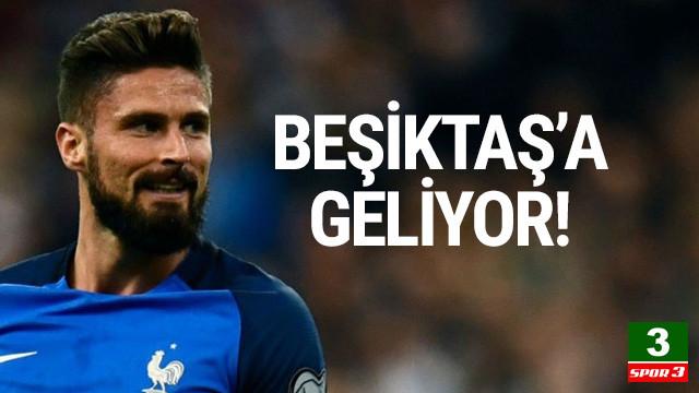Beşiktaş, Giroud için girişimlere başladı