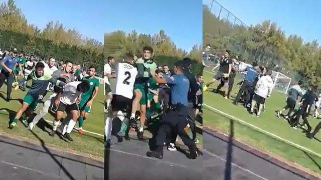 Konyaspor - Beşiktaş U21 maçında kavga çıktı