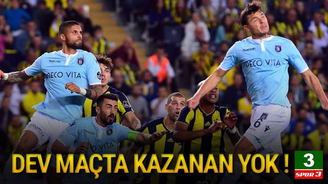 Kadıköy'de kazanan çıkmadı !