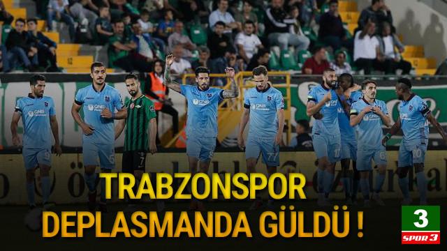 Trabzonspor deplasmanda Akhisarspor'a patladı