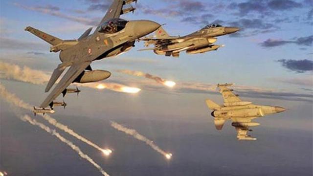 Türk jetleri bomba yağdırdı !