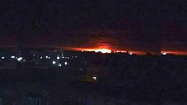 Ukrayna'da mühimmat deposu patladı