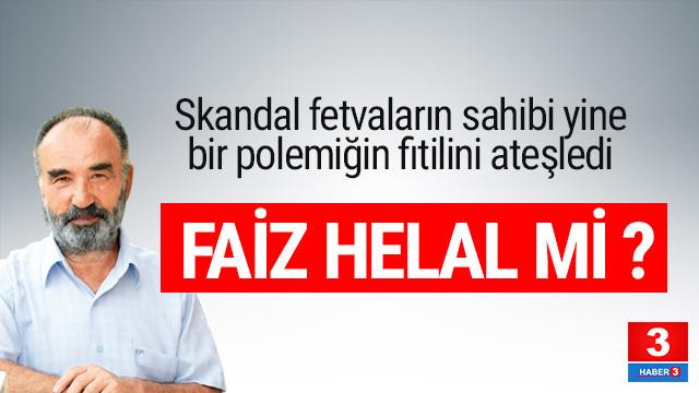 Her sözü olay olan Hayrettin Karaman ''faiz helaldir'' dedi mi ?