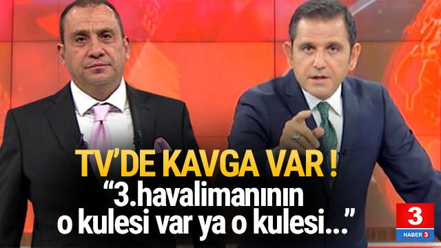Erkan Tan'dan Fatih Portakal'a olay sözler: O kule var ya...