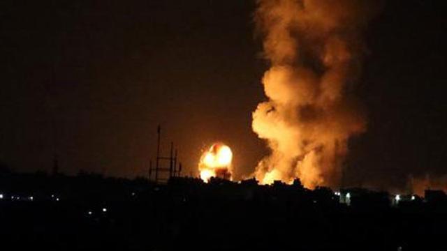 İsrail Gazze'ye saldırdı: 7 şehit