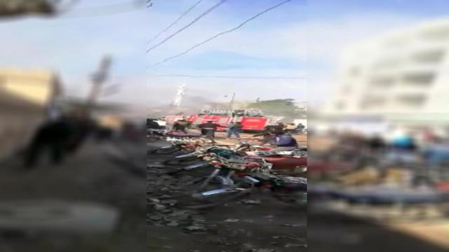 Cerablus'ta bomba yüklü araçla saldırı: Ölü ve yaralılar var