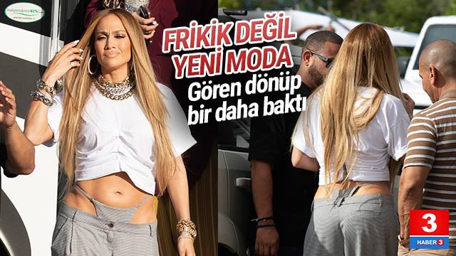 Jennifer Lopez'in kıyafetini gören bir daha baktı