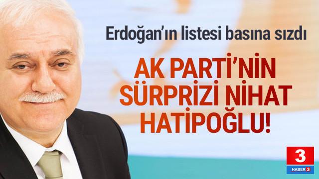 Erdoğan yerel seçimlerdeki 25 adayını belirledi; Hatipoğlu da listede