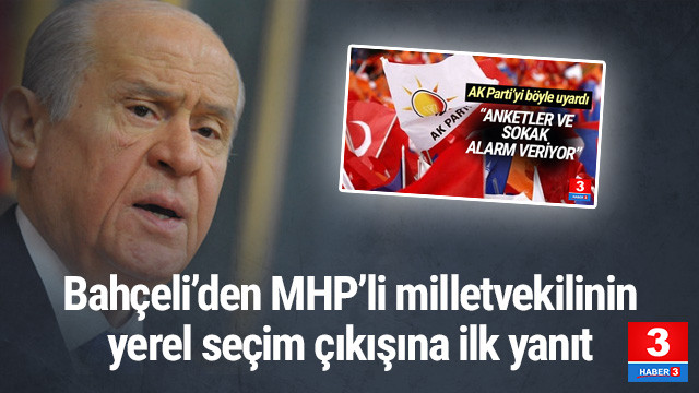 Bahçeli'den rest: ''MHP'yi bağlamaz!''