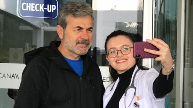 Aykut Kocaman sağlık kontrolünden geçti