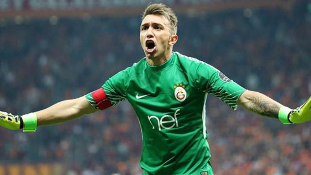 Muslera Galatasaray'da 3. kez 'dalya' diyecek