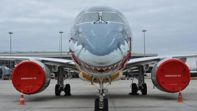''Uçan köpekbalığı'' İstanbul'a indi !