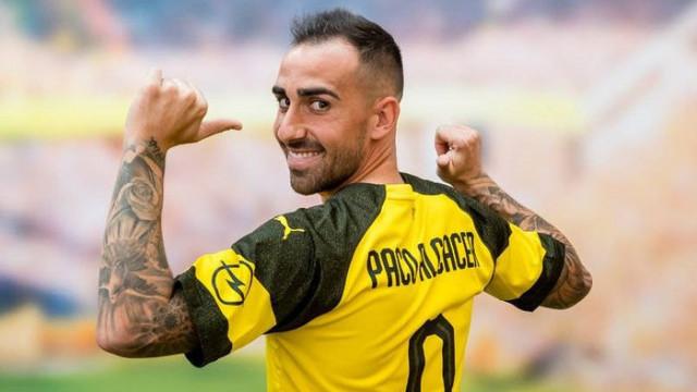 Borussia Dortmund, Paco Alcacer'in tapusunu aldı