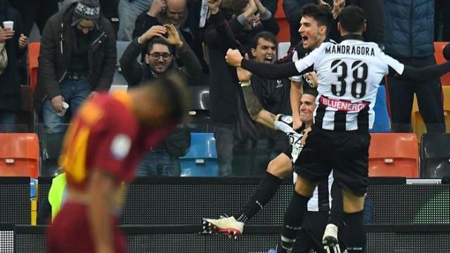 Udinese 1 - 0 Roma