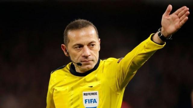 Cüneyt Çakır, Tottenham-Inter maçını yönetecek