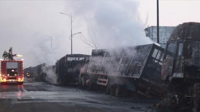 Çin'de kimya fabrikası yakınında patlama: 22 ölü