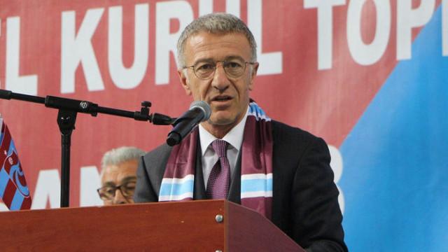 Trabzonspor Olağan Genel Kurulu'nda Ahmet Ağaoğlu tek listeyle seçime giriyor
