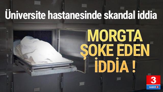 Morgda kornea hırsızlığı iddiası