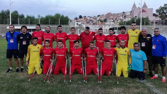 Ampute Milli Takım, Dünya Kupası'nda finale yükseldi