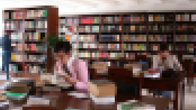 Üniversite kütüphanesinde iğrenç taciz