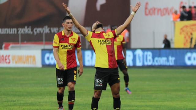 Göztepe puanını Süper Lig'de 18'e yükseltti
