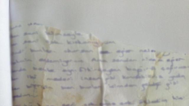 Öz kızına aşk mektubu ! İğrenç olay böyle ortaya çıktı