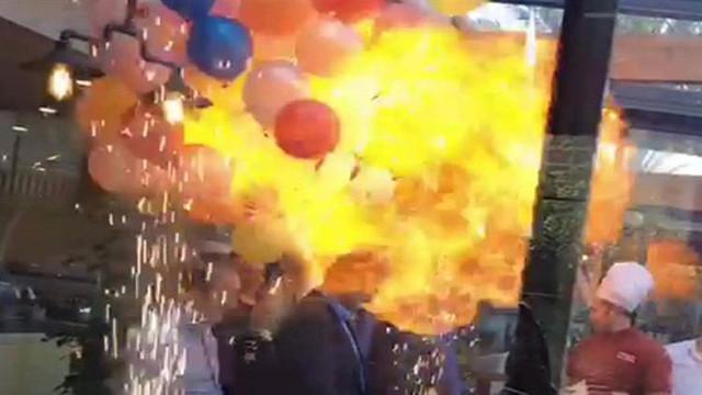 Tehlikenin adı: Uçan balon